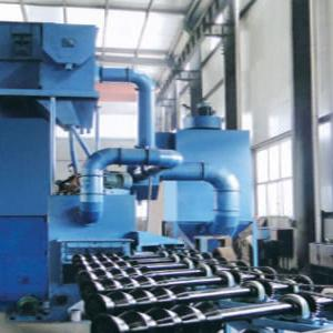 QG Series Roller Conveyor Steel Pipe Inner/Outer Wall Shot Blasting Machine
